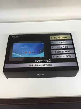 10.1インチ アンドロイドタブレット KEIAN KPD102R V2