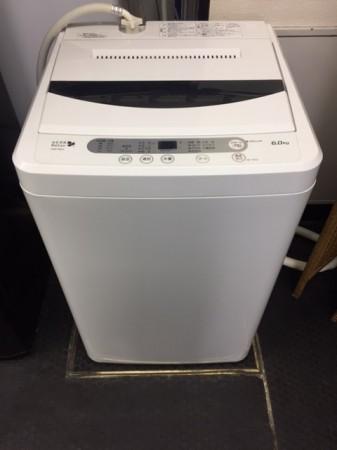 6.0K 洗濯機 ヤマダ電機 YWM-T60A1 2015年製