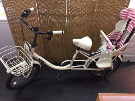 子供乗せ自転車 ブリヂストン 「bikke(ビッケ)」 BK03T4