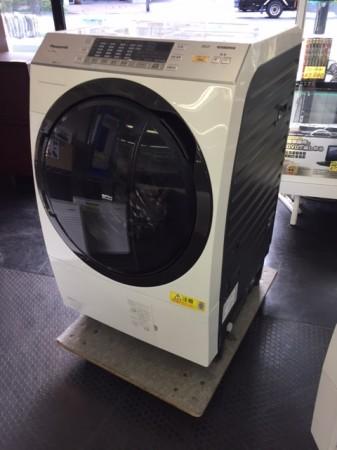 パナソニック 9.0K ドラム洗濯機 NA-VX3500L 2015年製