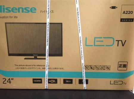 24インチ液晶テレビ ハイセンス HS24A220 新品