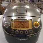 3合炊き炊飯器 象印 2013年製 圧力IH NP-RH05-TC