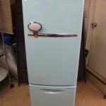 ナショナル 冷蔵庫 WILL FRIDGE mini NR-B16RA-AT ターコイズブルー