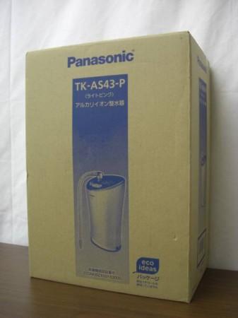 アルカリイオン整水器  パナソニック TK-AS43-P